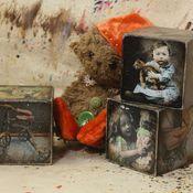 Для дома и интерьера ручной работы. Ярмарка Мастеров - ручная работа Старые игрушки - кубики 8 см. Handmade.
