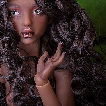 Куклы и игрушки ручной работы. Ярмарка Мастеров - ручная работа Резерв. Шарнирная полиуретановая кукла Кира. Handmade.