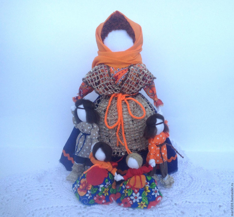 Vetochka a talisman for mothers and children, Folk Dolls, Vyazma,  Фото №1