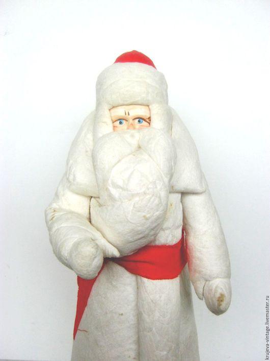 Сказочные персонажи ручной работы. Ярмарка Мастеров - ручная работа. Купить Дед Мороз 50-х годов.. Handmade.