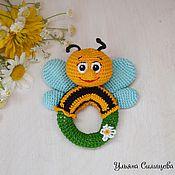 """Куклы и игрушки ручной работы. Ярмарка Мастеров - ручная работа Погремушка """"Пчелка"""". Handmade."""