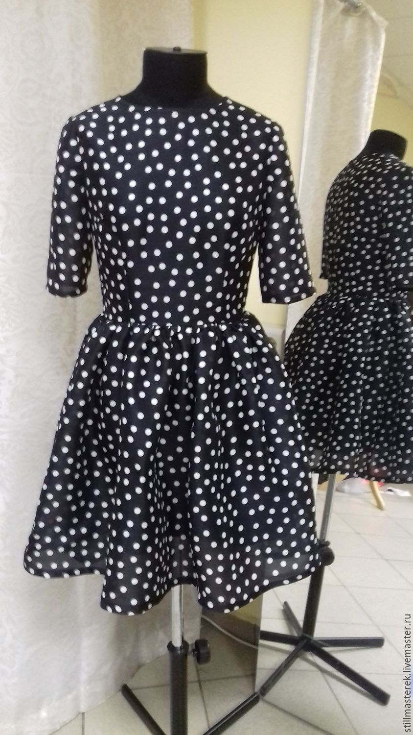 polka dot dress, Dresses, Moscow,  Фото №1