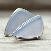 Украшения handmade. Livemaster - original item Earrings with sapphirine