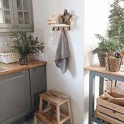 handmade. Livemaster - original item Wooden shelf for the kitchen. Handmade.