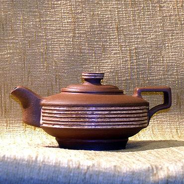 """Посуда ручной работы. Ярмарка Мастеров - ручная работа Чайник """"персона"""". Handmade."""