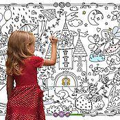 Куклы и игрушки handmade. Livemaster - original item Huge Poster-coloring book