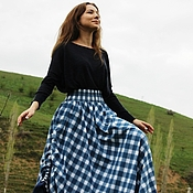 Одежда handmade. Livemaster - original item Long skirt,