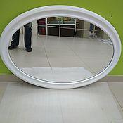"""Для дома и интерьера ручной работы. Ярмарка Мастеров - ручная работа Зеркало настенное Овальное """"Меркурий"""". Handmade."""