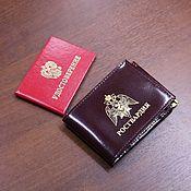 Канцелярские товары handmade. Livemaster - original item Cover ID money clip Regarde. Handmade.
