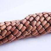 """Бусины ручной работы. Ярмарка Мастеров - ручная работа Бусины деревянные, """"Рисовые зёрна"""",  9мм х 6мм по 10шт.. Handmade."""