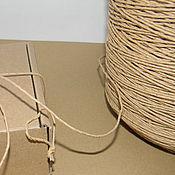 Материалы для творчества ручной работы. Ярмарка Мастеров - ручная работа Шпагат бумажный, тонкий. Handmade.
