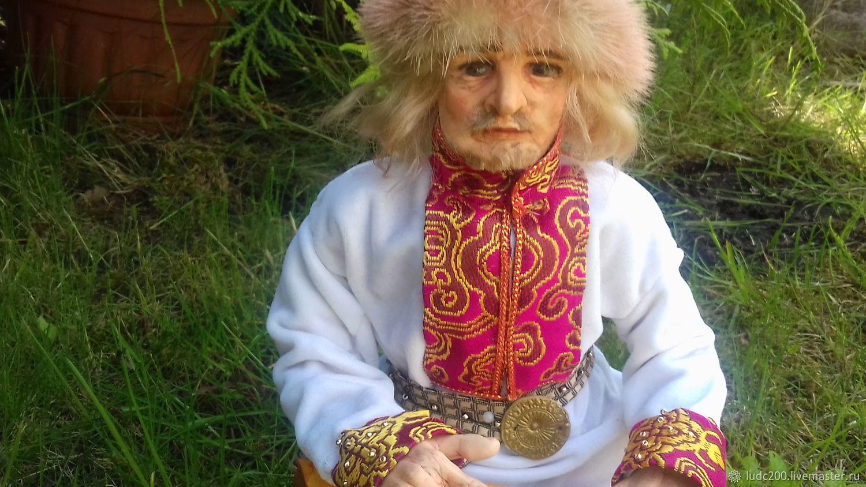 Садко с гуслями, Портретная кукла, Великий Новгород,  Фото №1