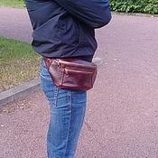 Сумки и аксессуары handmade. Livemaster - original item mens leather handbag. Handmade.