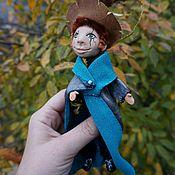 Мягкие игрушки ручной работы. Ярмарка Мастеров - ручная работа Мальчик волшебник по мотивам рассказа Гарри Поттер. Handmade.