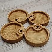 Для дома и интерьера handmade. Livemaster - original item Serving board Puzzle for spices. Handmade.