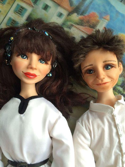 Коллекционные куклы ручной работы. Ярмарка Мастеров - ручная работа. Купить Авторская кукла ручной работы.. Handmade. Портретная кукла