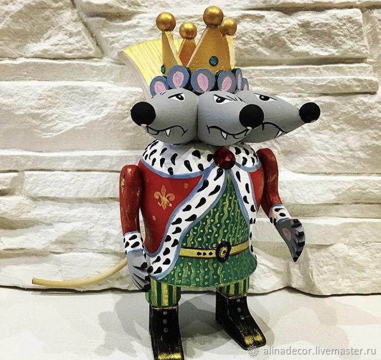 The Mouse King, Miniature figurines, Ramenskoye,  Фото №1
