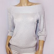 Одежда ручной работы. Ярмарка Мастеров - ручная работа Блуза Perle. Handmade.