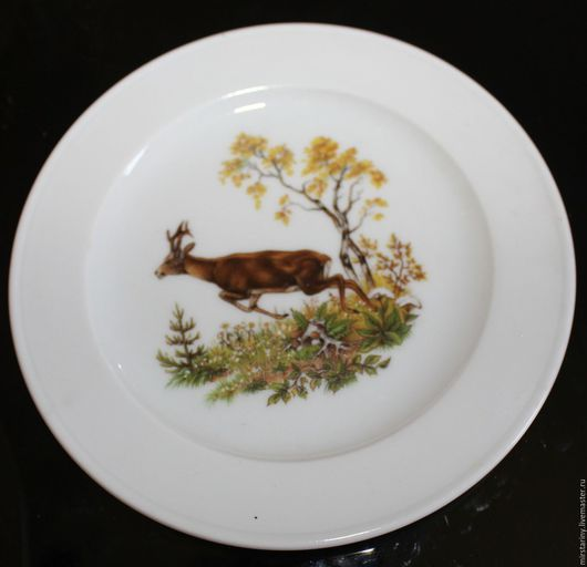 Винтажные предметы интерьера. Ярмарка Мастеров - ручная работа. Купить Две старинные настенные тарелки с животными, Bauscher Weiden, Германия. Handmade.