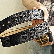 Аксессуары handmade. Livemaster - original item Men`s belt handmade. Handmade.