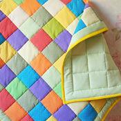 """Для дома и интерьера ручной работы. Ярмарка Мастеров - ручная работа Лоскутное одеяло """"Горошинка"""" конверт для новорожденного. Handmade."""