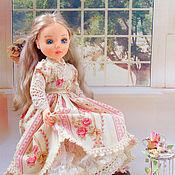 Куклы и игрушки ручной работы. Ярмарка Мастеров - ручная работа Николь, текстильная коллекционная будуарная кукла. Handmade.