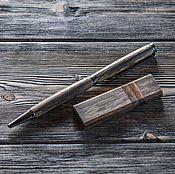 Канцелярские товары ручной работы. Ярмарка Мастеров - ручная работа Набор ручка+флешка из амазаку. Handmade.