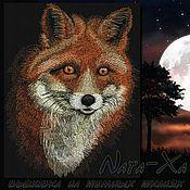 Материалы для творчества handmade. Livemaster - original item in the night... Fox. Handmade.