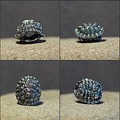 Материалы для творчества handmade. Livemaster - original item Turtle shell charm. Handmade.