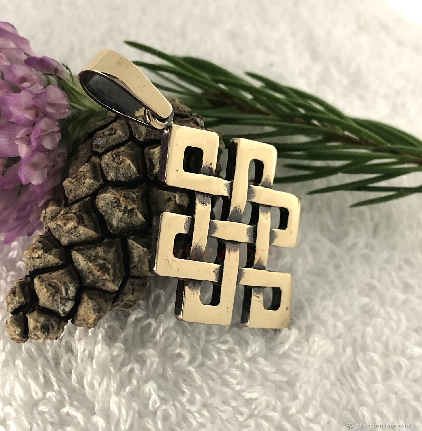 Amulet Knot Of Happiness. Amulets amulets in bronze, Amulet, Novosibirsk,  Фото №1