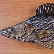 """Сувениры и подарки ручной работы. Ярмарка Мастеров - ручная работа Шкатулка """"Судак"""" в подарок рыбаку. Handmade."""
