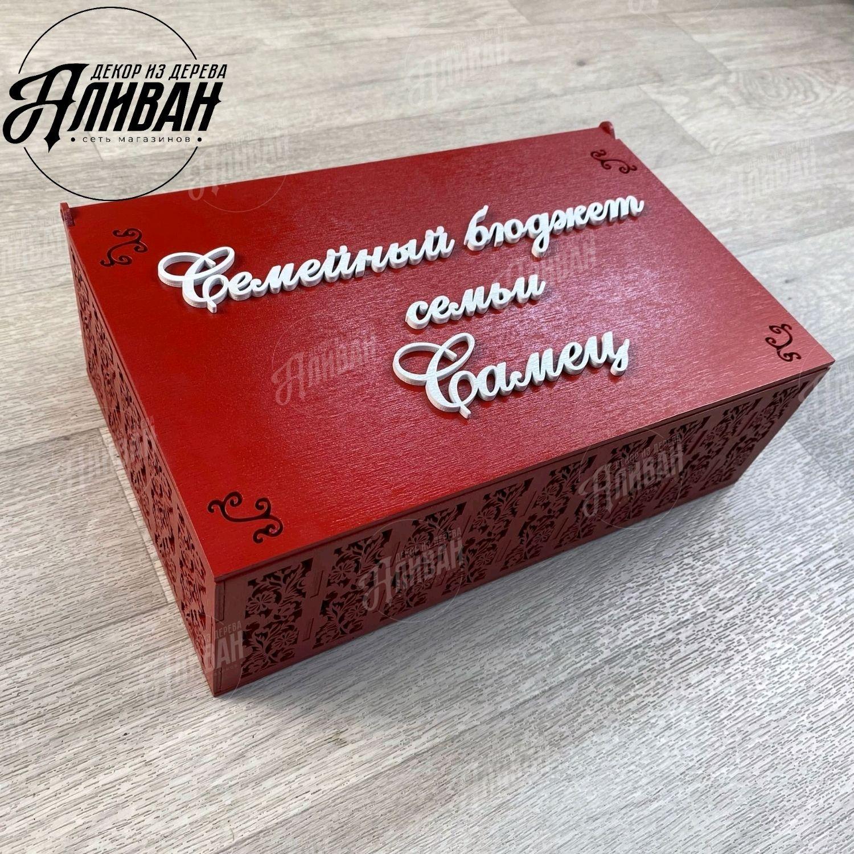 Шкатулка Семейный бюджет, Шкатулки, Владимир,  Фото №1