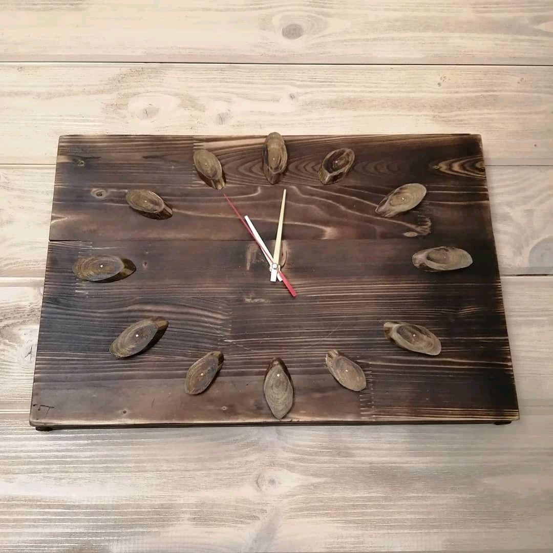 Часы настенные из дерева, Часы классические, Балашиха,  Фото №1