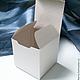 Упаковка ручной работы. Картонная коробка 7 х 7 х 7 см. Елена (handberry). Интернет-магазин Ярмарка Мастеров.