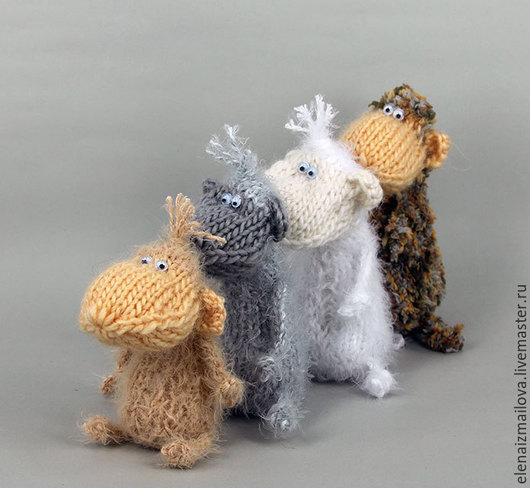 Куклы и игрушки ручной работы. Ярмарка Мастеров - ручная работа. Купить Символ года 2016 обезьяна или мартышка. Handmade.