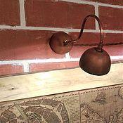 Для дома и интерьера ручной работы. Ярмарка Мастеров - ручная работа Для подсветки картин. Керамический светильник на стену. Handmade.