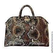 Сумки и аксессуары handmade. Livemaster - original item Bag made of Python SIBILLA. Handmade.