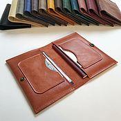 Сумки и аксессуары handmade. Livemaster - original item Organizer for documents made of genuine leather. Handmade.