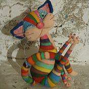 Материалы для творчества ручной работы. Ярмарка Мастеров - ручная работа Видео мастер класс Радужный кот. Handmade.
