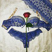 """Одежда ручной работы. Ярмарка Мастеров - ручная работа Комплект белья """"Macramе"""", ручной работы.. Handmade."""