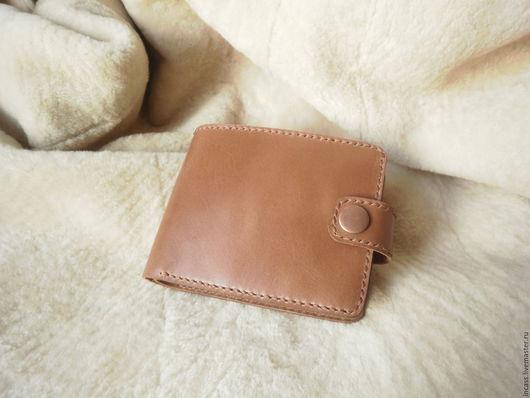 Кошельки и визитницы ручной работы. Ярмарка Мастеров - ручная работа. Купить кошелёк мужской кожаный портмоне кошелёк из кожи ручной работы. Handmade.