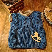 Одежда ручной работы. Ярмарка Мастеров - ручная работа Жилет детский вязанный. Handmade.
