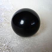 Фен-шуй и эзотерика handmade. Livemaster - original item Ball of jet, 53 mm. Handmade.