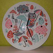 Для дома и интерьера ручной работы. Ярмарка Мастеров - ручная работа Часы детские. Handmade.