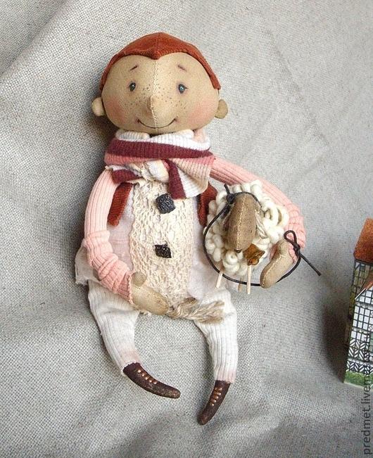 Ароматизированные куклы ручной работы. Ярмарка Мастеров - ручная работа. Купить Збышек и барашек. Handmade. Ароматизированная кукла, хлопок, шерсть