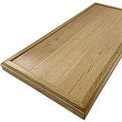 Сувениры и подарки handmade. Livemaster - original item Backgammon oak, handmade, 68h64 cm.. Handmade.