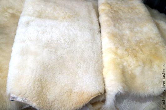 Текстиль, ковры ручной работы. Ярмарка Мастеров - ручная работа. Купить Шкура овечья стриженная светлая. Handmade. Белый