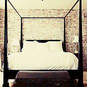 Для дома и интерьера ручной работы. Ярмарка Мастеров - ручная работа Кровать из массива дуба. Арт 01019. Handmade.