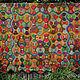 """Текстиль, ковры ручной работы. Ярмарка Мастеров - ручная работа. Купить Плед """"Каникулы в Мексике"""". Handmade. Покрывало, пэчворк, этнический"""