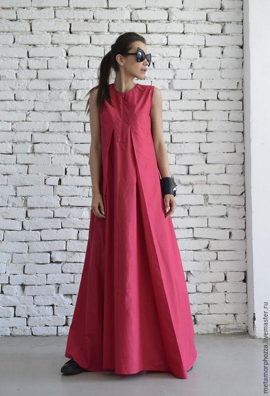 Платья ручной работы. Ярмарка Мастеров - ручная работа. Купить Платье цвета фуксии. Handmade. Фуксия, платье коктейльное